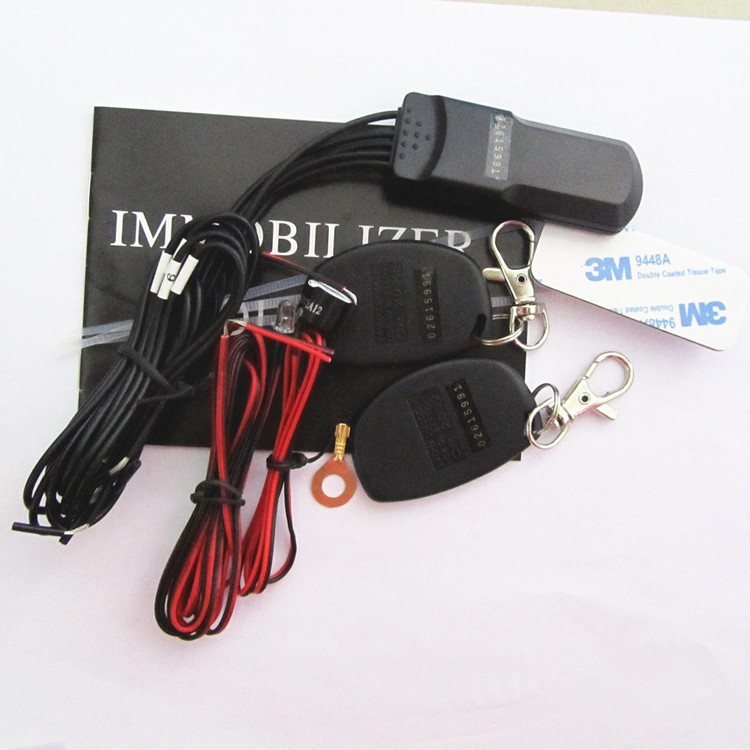 2.4ghz rfid motorcycle alarm ,2.4ghz rfid immobilizer, OEM Remote control wireless relay car immobilizer