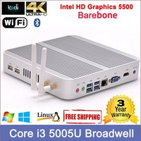 remote desktop mini pc with Core i3 processor Dual antennas 300M wifi 4K resolution zero thin client