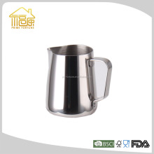 Stainless Steel Milk Pot/milk boiling pot/Milk Coffee Latte Frothing Garland Cup