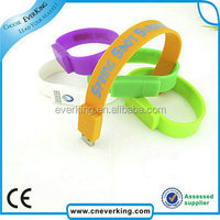2014 promotion gift wristband usb with 8GB 16GB