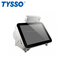 TYSSO 15 inch Full Flat LCD Touch Screen POS Hardware for Supermarket