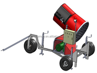 Portable Cannon Snow Ice Making System, CE and ISO Standard