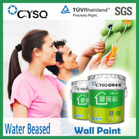 architecture decorative home paints for walls , water based concrete building wall coating , house wall paint