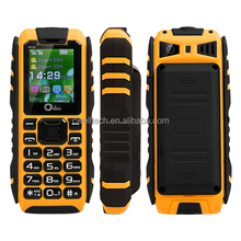 IP67 Rugged Waterproof Cell Mobile Phone Outdoor Military Small Basic Phone With Power Bank Phone