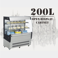 200L High Quality Countertop Cake and Bread Bakery Showcase Refrigerator Cake Display Freezer Fridge