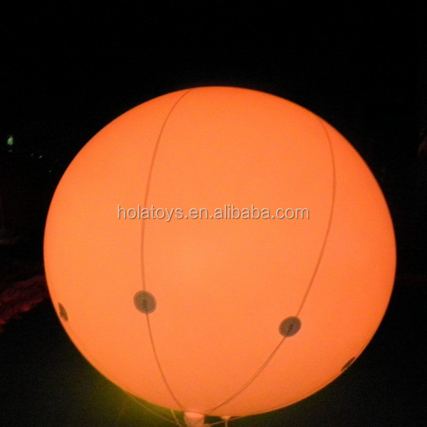 Hola helium balloons/inflatable helium balloon/led balloon