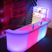 Hot sell guangzhou led furniture modern home bar counter design