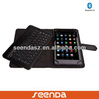Wireless removable bluetooth keyboard case for Google Nexus 7 2
