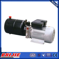 oil viscosity 15 to 68 CST hydraulic power unit with engine for lift table 3