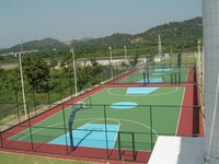 Hot price!!! Acrylic sports flooring for basketball court