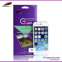 [Somostel] Best cellphone accessories 0.33mm thickness for iphone 5 5c 5s tempered glass screen protector