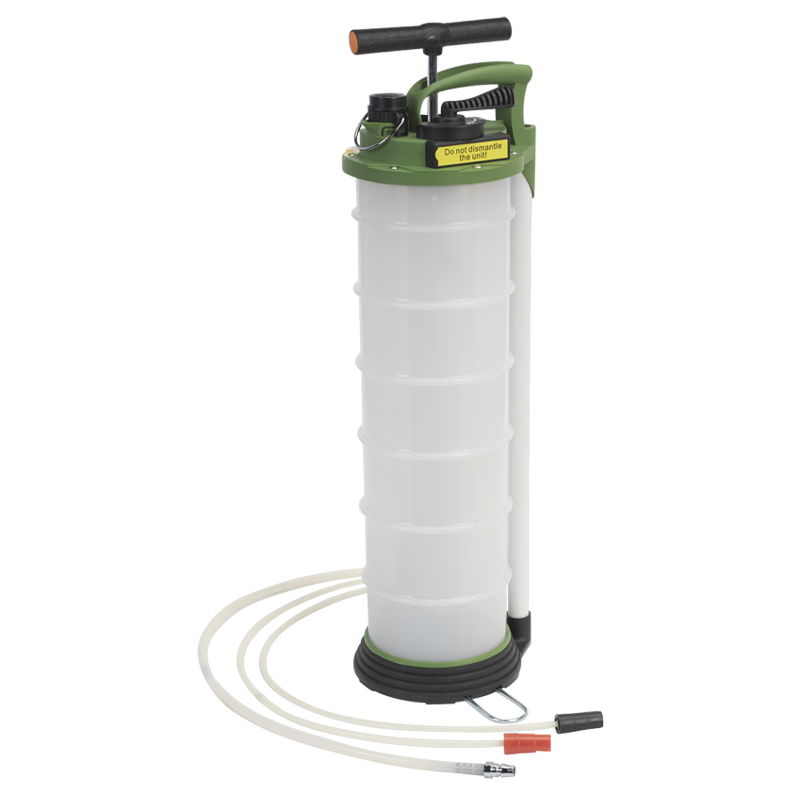 Vacuum Oil & Fluid Extractor & Discharge 6ltr