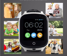 2017 Touch Screen Sos 3G Gps Tracker Baby Smart Watch Phone With Gps+Lbs+Wifi Positioning