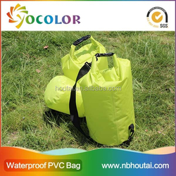 2015 Best quality Zipper Waterproof Beach Tote Bag for camping and hiking