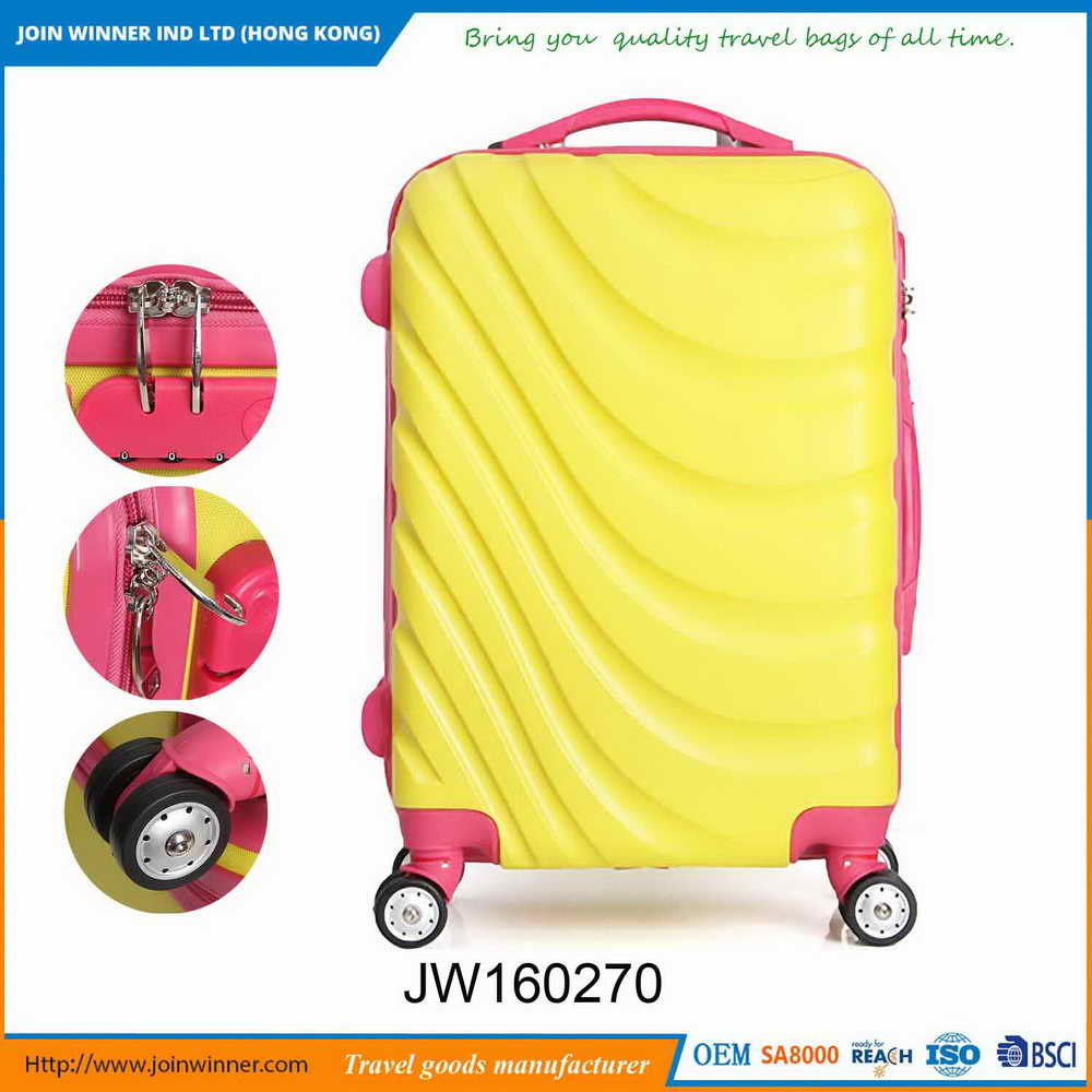 Attractive Fashion It Expandable Hardside Luggage With Iso9001 Certificates