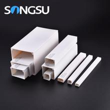 High-level inflame retardant pvc square electrical cable channel