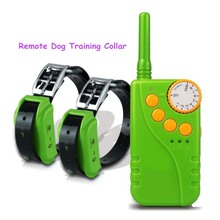 Rechargeable Waterproof 100 Levels Shock Adjustable Remote Dog Training Collar