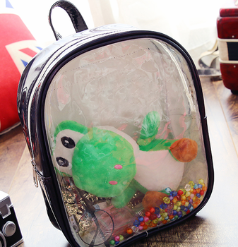 PVC Transparent School Backpack