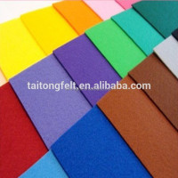 Colored 100% wool felt, 2mm thickness wool felt for wholesale