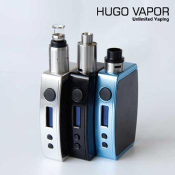 Low Resistance Protection Hugo Vapor 200W Vape Mechanical Mod