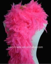 curly ostrich Pink Feather Boas
