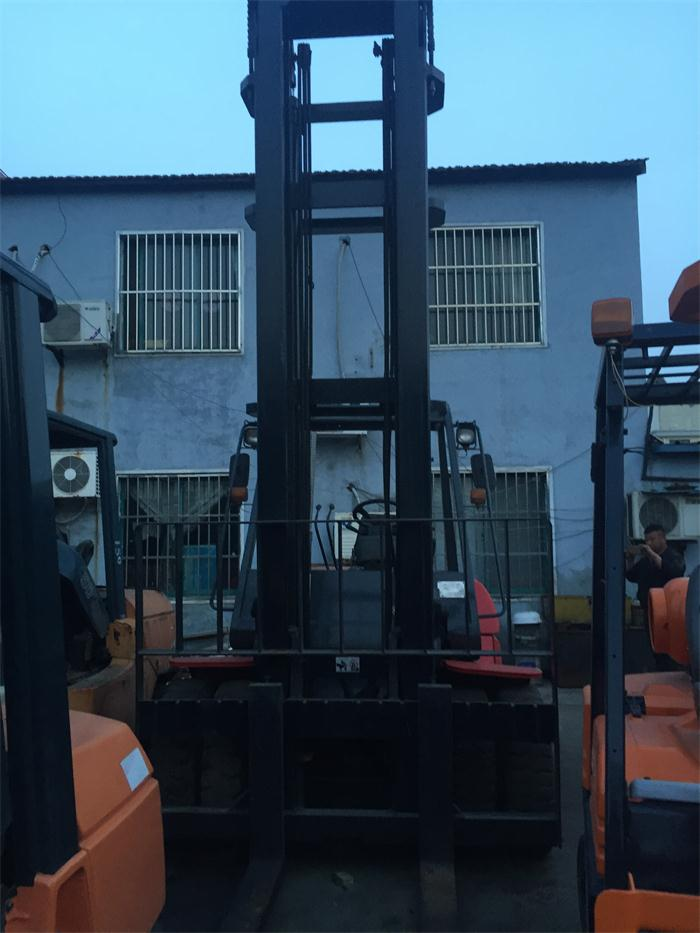 Cheap Price High Quality FD100 Original from Japan Used Toyota 10 Ton Forklift for Sale