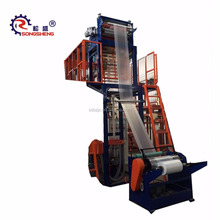 SS-HL Monolayer Blown Film Machine Function Of Extruder Film-Blown Extrusion Frost Line Height