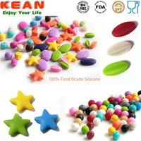 2015 New Products Wholesale BPA Free Food Grade Hama Teething Beads