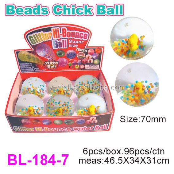 High Quality Super Bouncing Water Light Ball