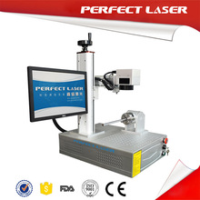 stainless steel date code logo image laser marking machine for mechanical parts