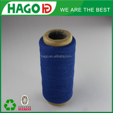 textile material 70% cotton and 30% polyester blend yarn 12s cotton carded yarn