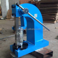 AP-3T Hand press, Small Manual punching machine, Puncher for square