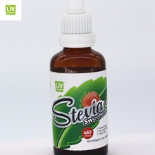 100 Natural Sweetener White Stevia Liquid for Coffee Cake and Beverage