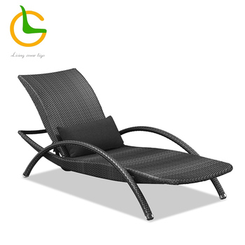 outdoor uv resistant waterproof tape lounge Plastic Sun Lounger chaise lounge