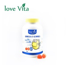Child Oil Fish Soft Candy Health Confectionery Gummy With OMEGA 3
