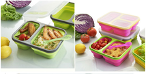 Food Use and Storage Boxes & Bins Type silicone lunch container