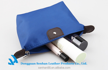 Factory price custom polyester toilet cosmetic makeup bag wholesale