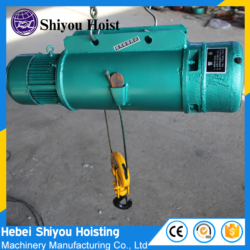 Guide Bar Drum Cover Electric Wire Rope Hoist Construction Site ...
