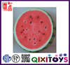 Special plush food toy pillows custom shaped pillow realistic watermelon