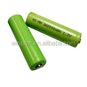 1.2v Nimh Battery Pack AA 2000mah Rechargeable Nimh Battery Aaa / aa / a / sc / c / d