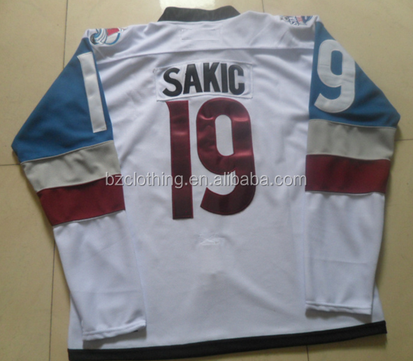 Joe Sakic #19 Colorado Avalanche 2016 Stadium National Hockey Jersey