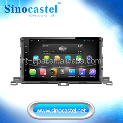 1 DIN Special Car DVD Player for Toyota Highlander GPS Navigation with Bluetooth/Radio/RDS/TV/Can Bus/USB/iPod/HD Touch screen