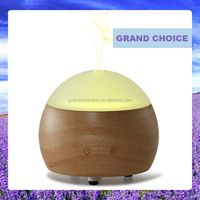 Wooden essential aroma oil diffuser air purifier