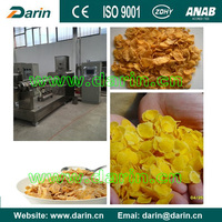 Hot Sale Corn Flakes Breakfast Cereal Making Machine Full Line Touch Screen