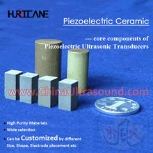 PZT Piezoelectric Material for Rectangle Piezo Cylinder