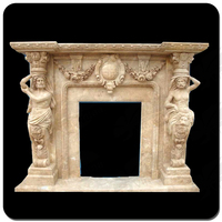 indoor used grecian style fireplaces for marble stone