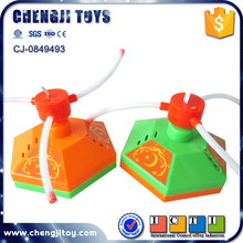Musical plastic spinning top light up toys for boys