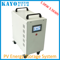 3.2/3.7/6.5KWh lithium battery 1500W li-ion energy storage system