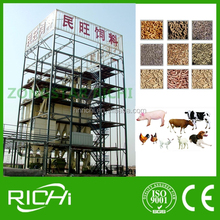 Cattle Chicken Sheep Pig feed manufacturing machinery / poultry feed production line / livestock feed plant