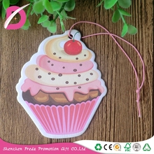 Eco-friendly Custom Made Hanging fragrance mixed Paper Car air freshener
